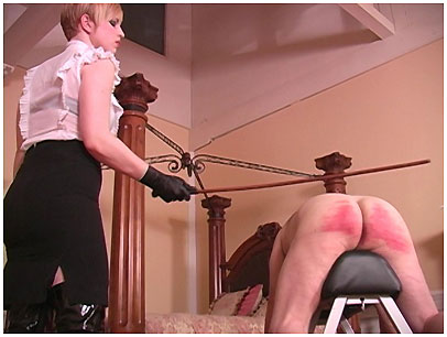 Femdom caning video quicktime