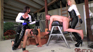 Butt-Stretching-And-Tormenting-Their-Servants